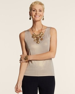 Travelers Collection Shimmer Contemporary Tank