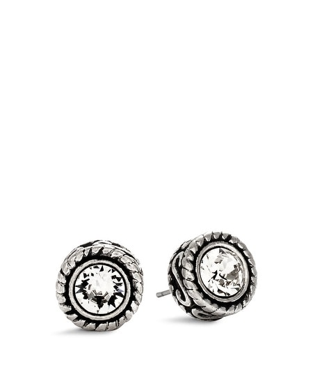 Text Stud Earrings