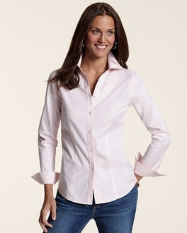 Cattleya Pink Effortless Cotton Naya Shirt