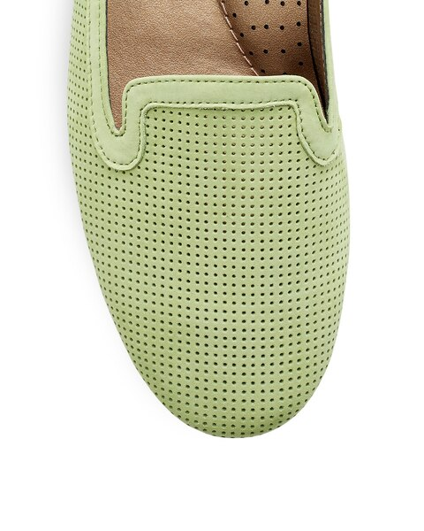 Saija Lime Green Loafer