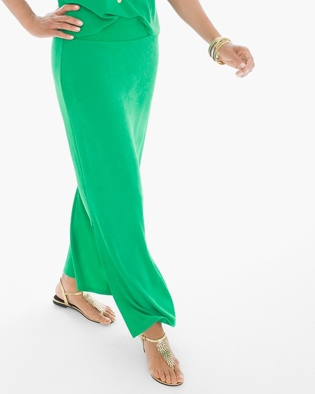 Travelers Classic Maxi Skirt in Heartland Green