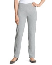 Zenergy Knit Collection Cozy Jersey Pants in Grey