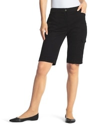 Zenergy Gianna Side-Pocket Shorts in Black