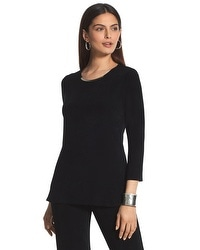 Travelers Classic Crescent Hardware Top in Black