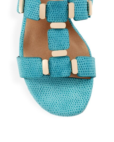 Bell Turquoise Sandals