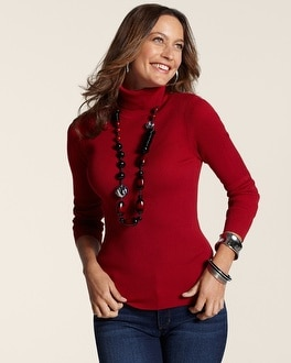 Razzie Red Reagan Turtleneck