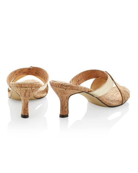 Mackie Gold Sandals