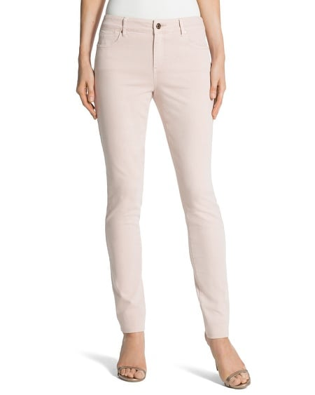 Platinum Denim Jeggings in Veranda Blush