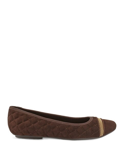 Spice Ballet Chocolate Flats