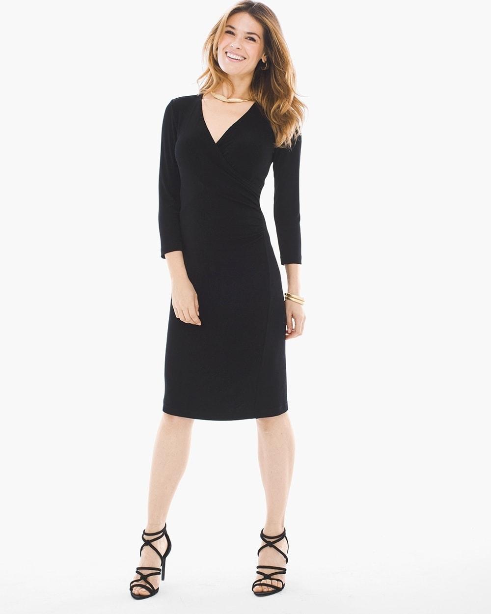 Black Wrap Dresses