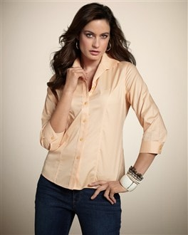 Effortless Cotton Adrienne Shirt