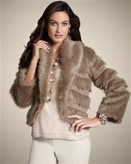 Fur Bolero Femi Jacket