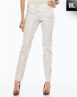 Black Label Printed Ankle Pant