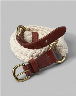 Corded Nickolai Belt