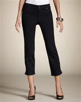So Slimming By Chico's 5-Pocket Rinsed Indigo Crop