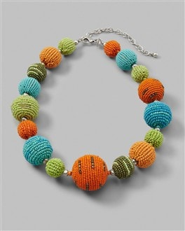 Sylvea Single Strand Necklace