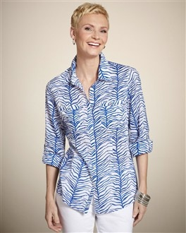 Flowing Fronds Cora Top