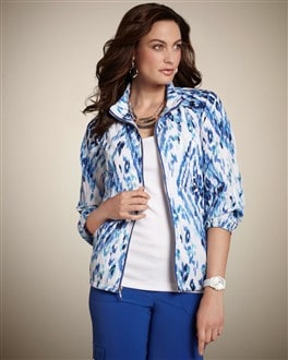 Zenergy Ikat Crush Neema Jacket