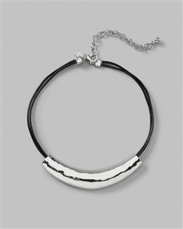 Kardy Collar Leather Pendant Necklace