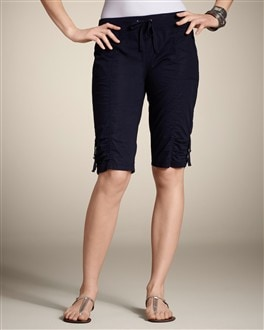 Zenergy Poplin Ruched Short