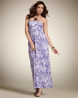 Zenergy Swirl Print Maxi Dress