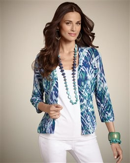 Blue Diamond Cardigan