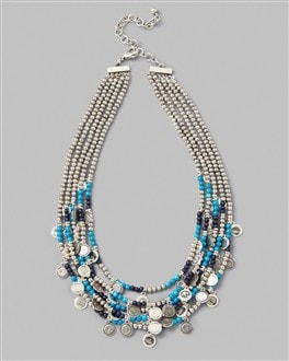 Hadassa Multi-Strand Necklace