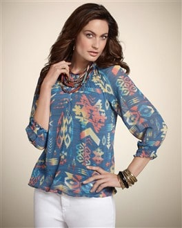 Tribal Touches Phoebe II Top