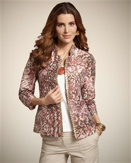 Colorful Animal Bernita Jacket