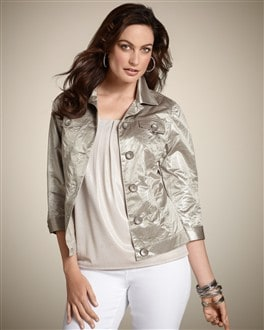 Shaniqua Crinkled Texture Jacket