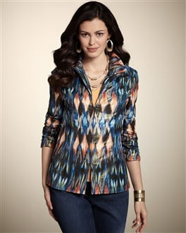 Pianna Majestic Ikat Jacket