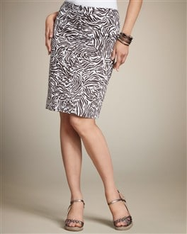 Abstract Animal Staci Smooth Cargo Skirt