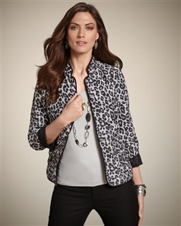 Leopard Animal Reversible Jacket