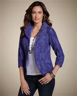 Tallianna Textured Jacket