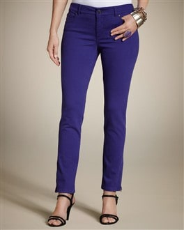 So Slimming By Chico's Zipper Ankle Jean