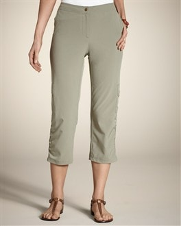 Zenergy Neema Rena Ruched Crop Pant