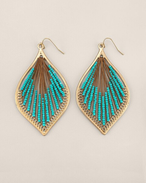 Ivora Drop Pendant Earrings