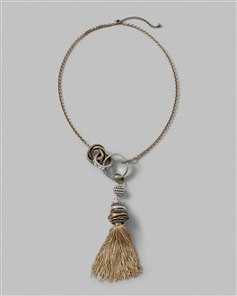 Obala Tassel Necklace