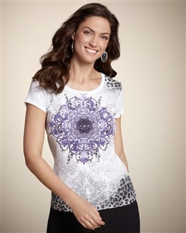Zenergy Mattie Medallion Tee
