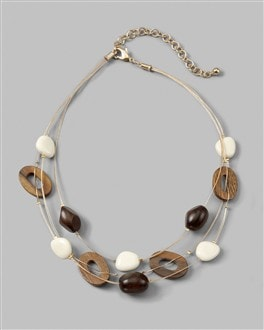 Manasa Illusion Multi-Strand Necklace