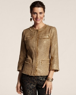 Goldie Tweed Noelle Jacket