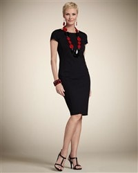 Jules Solid Ponte Dress