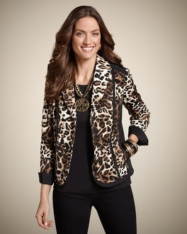 Maybell Leopard Mix Jacket