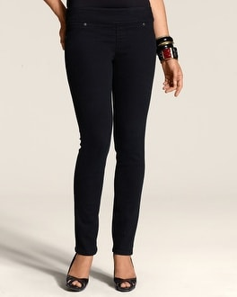 So Slimming By Chico's Black Jegging