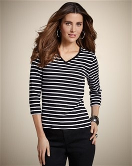 Striped Chloe Tee