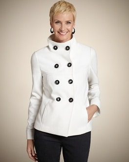 Candice Light Plush Coat
