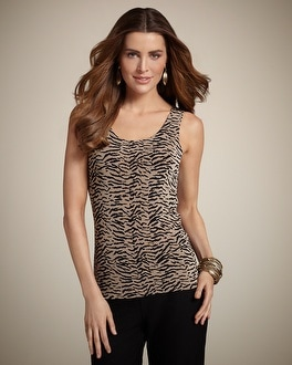 Travelers Classic Mini Tiger Contemporary Tank