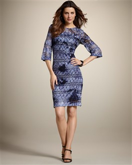 Ombre Lace Camille Dress
