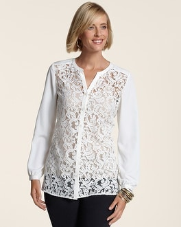 Lace Delight Janese Top