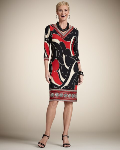Brody Border Dress